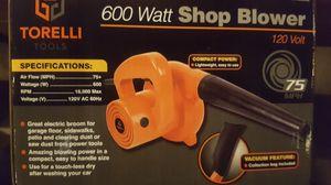 New! Torelli Tools 600 Watt Shop Blower for Sale in Moreno Valley, CA
