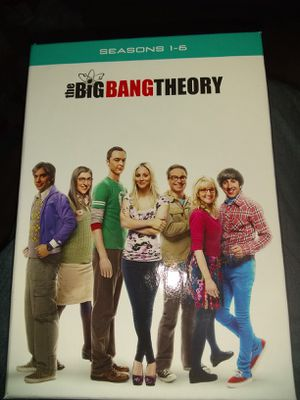 Big bang theory season 1-6 and 12 two weeks old $45 for Sale in Crimora, VA