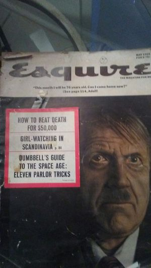 Esquire Magazine 1965 with Hitler on the cover for Sale in Fort Pierce, FL