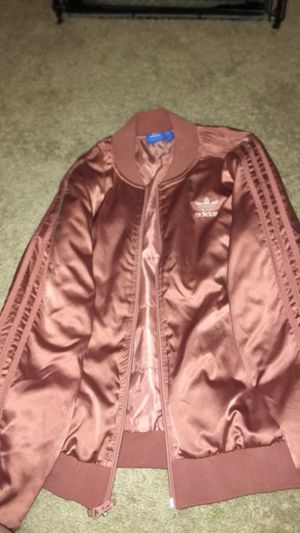 Pink Adidas bomber jacket for Sale in Sterling, VA