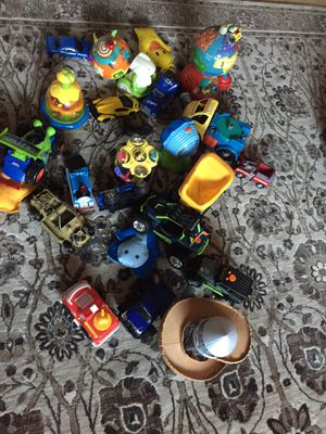 Cars and small toys for babies for Sale in Sunnyvale, CA
