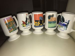 GE NAED Southern Region Collectible Vintage Glass Mugs! for Sale in Miami, FL