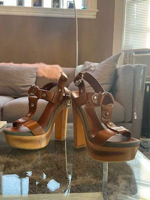 Gucci high heel sandals size 37 for Sale in Boston, MA