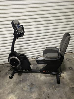 Nordictrack GX 4.7 recumbent exercise bike for Sale in Clearwater, FL