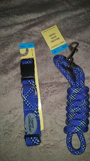Braided leash and collar for Sale in El Cajon, CA