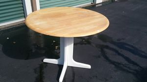 """40"""" Round Dropleaf Dinette Table for Sale in Virginia Beach, VA"""