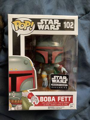 Boba Fett Smuggler's Bounty FUNKO POP for Sale in Moreno Valley, CA
