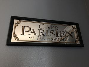 Cafe Parisian Sign for Sale in Marysville, WA