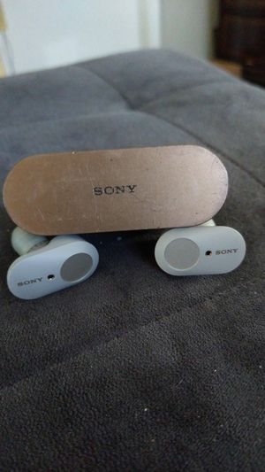 Sony wireless earbuds noise cancelling for Sale in Hollywood, FL