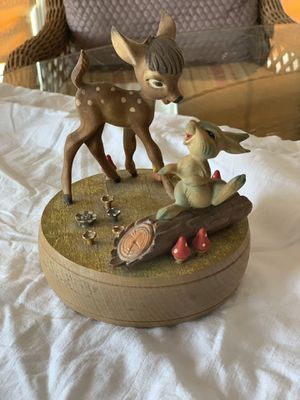 Walt Disney Productions Made in Italy by ANRI - Bambi and Thumper for Sale in Alpharetta, GA