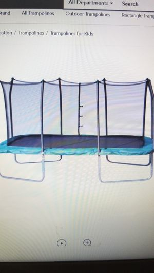 Rectangular Gymnastic Trampoline 8x14. Like new. Includes everything. for Sale in Rancho Santa Margarita, CA