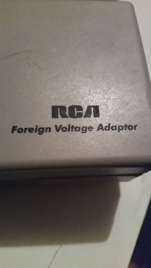 Rca foreign voltage adapters for Sale in Charlotte, NC