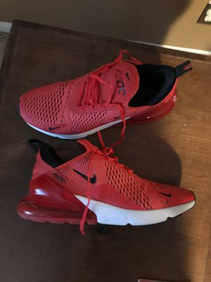 Size 13 Nike Air Max 270 shoes for Sale in Littleton, CO