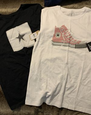 Boys size l new converse shirts for Sale in Casselberry, FL