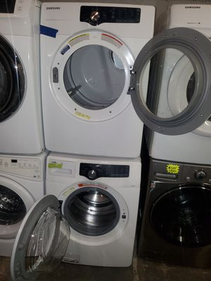 SAMSUNG front load Washer and dryer set working perfectly four months warranty for Sale in Baltimore, MD