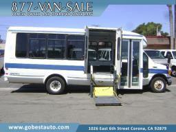 Ford Shuttle Bus RV Camper Econoline Cargo Van Handicap Wheelchair Lift Dually Chevy Dodge Express box truck utility transit Mercedes sprinter for Sale in Corona, CA