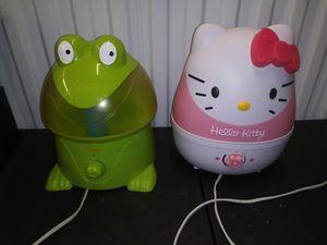 Crane frog Hello Kitty humidifier for Sale in Washington, DC