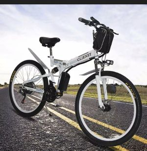 26'' Electric Bike E-bike Mountain Bicycles City Folding Cycling 21 Speed 350W. for Sale in Brooklyn, NY