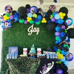 Balloon Arch With Hedge Backdrop for Sale in Boca Raton, FL
