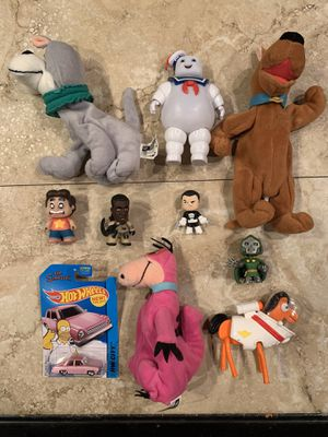 10 Collectible Toys: Ghostbusters, Steven Universe, Simpsons, Scooby for Sale in San Antonio, TX