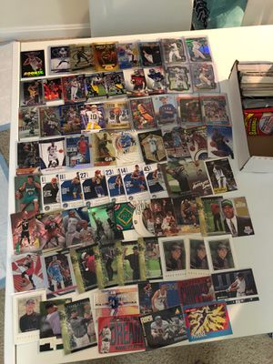 Mixed bundle of sports cards basketball baseball football golf Michael jordan zion kobe for Sale in Fairfax, VA