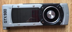 Like new Shroud, Heatsink and Fan assembly for NVIDIA GTX980. *NO Video card. *NO original box or screws. It come with the back cover. for Sale in Charlotte, NC