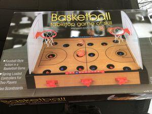 Basketball tabletop game of skill for kids for Sale in Hampton, VA