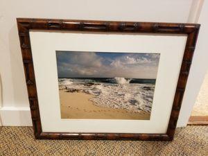 Framed ocean photo - Victoria McCormick for Sale in San Luis Obispo, CA