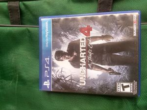 Ps 4 uncharted A thiefs en 4 for Sale in Houston, TX