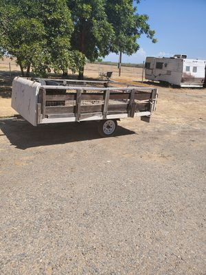 Nice trailer with lights& spare tire for Sale in Fresno, CA