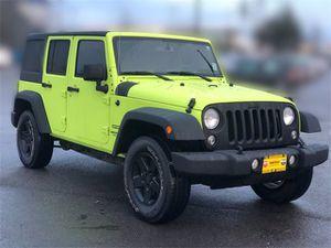 2016 Jeep Wrangler for Sale in Monroe, WA