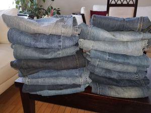 16 Name brand Jean's most 36/34 good condition for Sale in Glen Burnie, MD