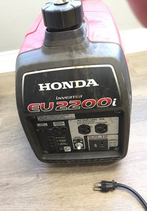 Honda EU2200 Generator for Sale in Brownstown Charter Township, MI