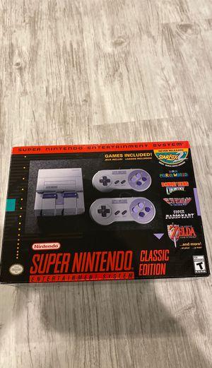 Super Nintendo Classic Edition Brand New for Sale in Glenview, IL