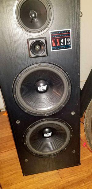 VINTAGE Dcm Loudspeakers KX-212 Pair* for Sale in Tampa, FL