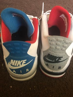 """Jordan """"What The"""" 4's sz 12 for Sale in St. Louis, MO"""