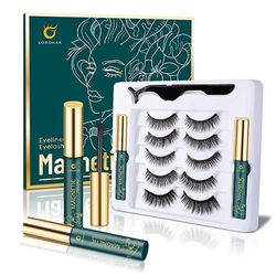 5 Pairs Magnetic Eyelashes with Eyeliner, for Sale in Franklin,  TN
