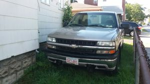 2000 Chevy Silverado with plow best offer for Sale in Arlington, MA