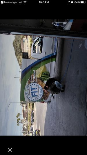 Camper shell with refrigerant for Sale in Los Angeles, CA