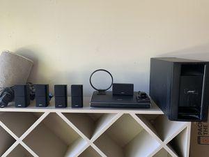 Bose Speaker System - Bose Lifestyle AV35 Surround Sound System for Sale in Modesto, CA