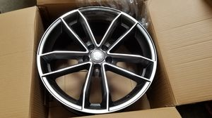 """Audi 19"""" new rs style rims tires set for Sale in Hayward, CA"""