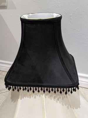 Black tassel lampshade for Sale in Dallas, TX