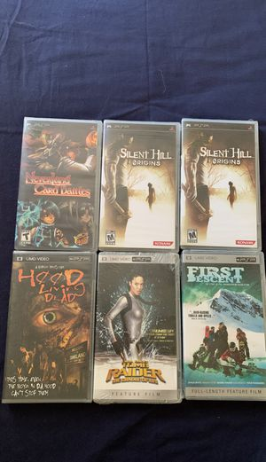 PSP Games and Movies for Sale in Los Angeles, CA