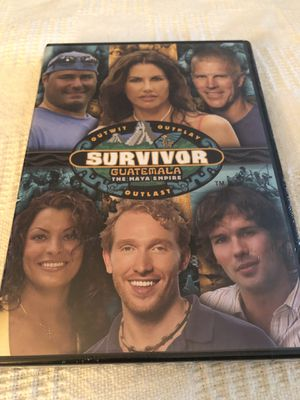 Survivor Guatemala DVD for Sale in Pasadena, TX