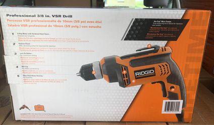 "Ridgid 3/8"" Drill for Sale in Lakeland,  FL"