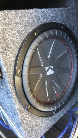 Kicker Comp-r 12 inch subwoofer for Sale in Lake Ridge, VA