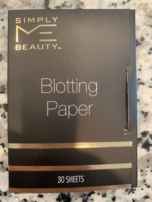 Simply me beauty blotting sheets for Sale in Bluffdale, UT