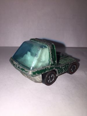 Vintage 1969 Hot Wheels Redlines The Heavyweights Green Cab for Sale in Carteret, NJ