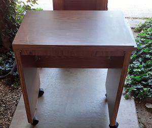 Rolling table/desk for Sale in Modesto, CA