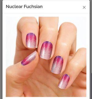 100% nail polish strips nuclear fuchsian for Sale for sale  Cypress, CA